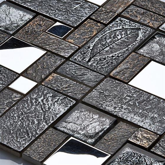 Retro Glass Mosaic / R-8805 Yasimba