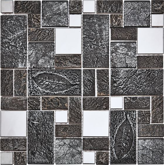 Retro Glass Mosaic / R-8805 Yasimba
